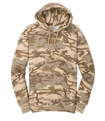 3ef29e3ad Port & Company Classic Camo Pullover Hooded Sweatshirt - JOESUSA.COM