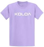 Lavender / White logo