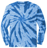 Royal Blue tie-dye