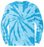 Turquoise tie-dye