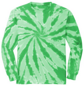Kelly Green tie-dye
