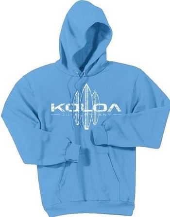 Aquatic Blue / White logo
