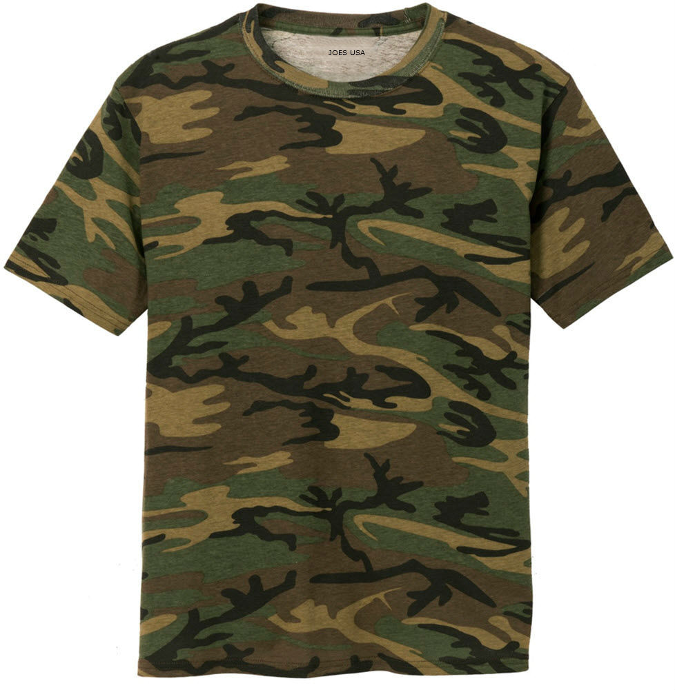 a67dfdae Mens 100% Cotton Camo Tee. Camouflage T Shirts in Sizes XS-4XL ...