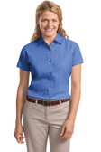 Womens Short Sleeve Wrinkle Resistant Easy Care Shirts