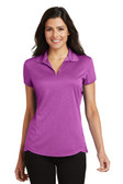 Port Authority Ladies Trace Heather Polo. L576.