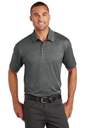 bc6e0052 Mens Trace Heather Moisture Wicking Golf Polos in Sizes: XS-4XL ...