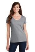 Port & Company Ladies Fan Favorite V-Neck Tee. LPC450V.