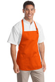 Port Authority - Medium Length Apron with Pouch Pockets. A510. 1