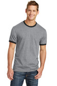 Port & Company 5.4-oz 100% Cotton Ringer Tee. PC54R.
