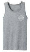 Athletic Heather / White logo