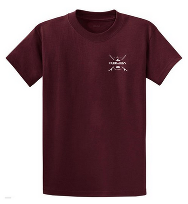Athletic Maroon front