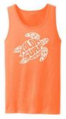Neon Orange / White logo
