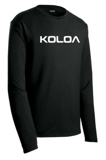 ecf65a4797271 Koloa Surf Co. Text Logo Long Sleeve Soft Cotton Lightweight T-Shirts in Sizes  S-6XL. Loading zoom