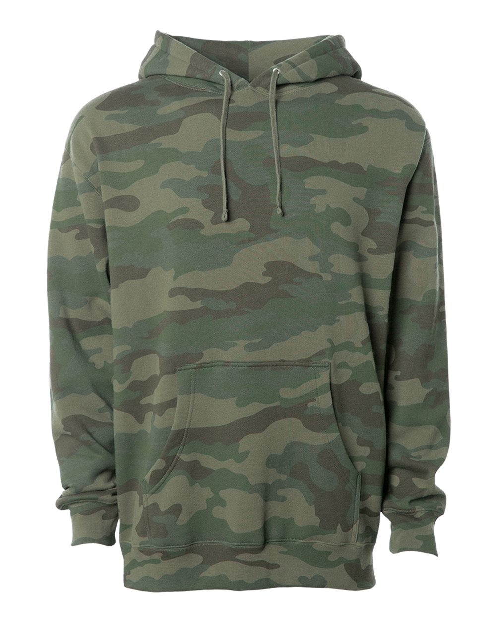 Independent Trading Co. Camo Hooded Pullover Sweatshirt ce28d17ffab