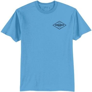 Aquatic Blue / Black logo