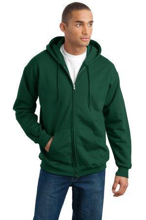5d3e2178222 Hanes Ultimate Cotton - Full-Zip Hooded Sweatshirt. F283. - JOESUSA.COM