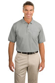 Port Authority Silk Touch™ Polo with Pocket. K500P.