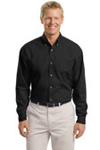 Men's Tall Long Sleeve Twill Shirt