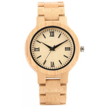 BAMBOO NATURAL WOODEN WATCH