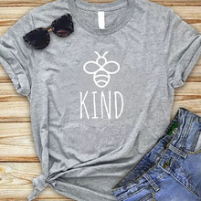 BE KIND GREY TEE