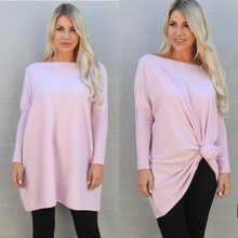 SLOUCH KNIT LILAC