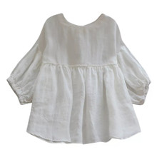 BABY DOLL WHITE TOP