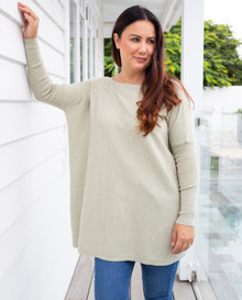 SLOUCH KNIT SAGE