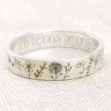 WILDFLOWER FLORAL RING