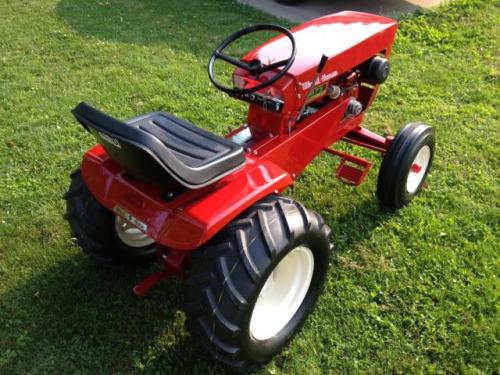 1965 875 Wheel A Matic Wheel Horse Decal Kit 33 875 Redo