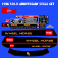 1996 520-H ANNIVERSARY  DECAL SET