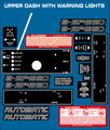 300 400 SERIES DASH AND CONTROL DECALS FOR