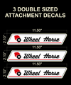 LARGER ATTACHMENT DECALS SET OF THREE