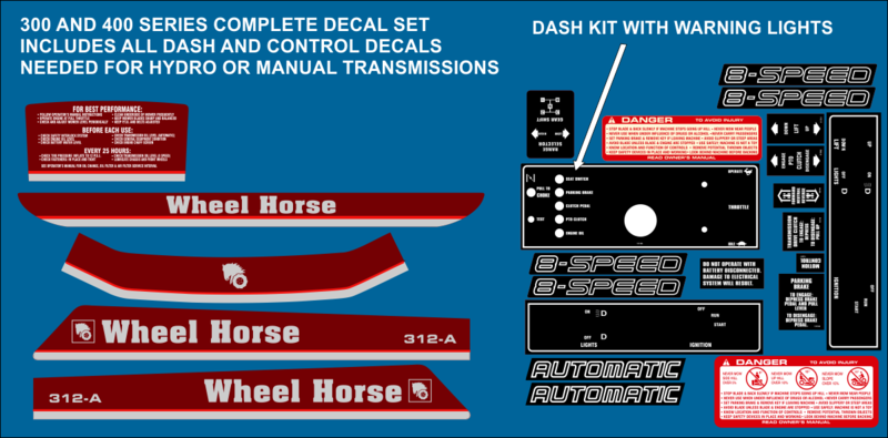 Wheel Horse 1987 Through 1989 314