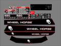 520-H Wheel Horse Decal Set
