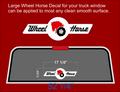 Truck Window decal. 17.25 inch 551 hood decal