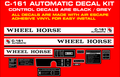 C-161  AUTOMATIC REPRODUCTION DECAL KIT
