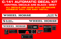 C-141  AUTOMATIC REPRODUCTION DECAL KIT