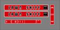 Reo Lawn Skiff Decal set