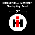 INTERNATIONAL HARVESTER CUB CADET STEERING CAP DECAL