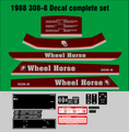 1987 - 1988 Wheel Horse  308-8 COMPLETE SET