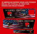 Wheel Horse xi custom Patriot  decal set