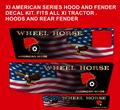 Wheel Horse xi custom Patriot  decal set