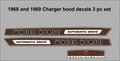 WHELL HORSE 1968 OR  1969 CHARGER  AUTOMATIC WOODGRAIN DECALS