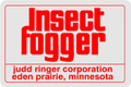 Judd Ringer Corp Insect Fogger chrome decal set of 8