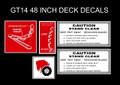 1970 1971 1972 1973 GT 14 48 INCH DECK KIT