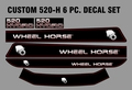 520-H CUSTOM 6 PC. HOOD SET