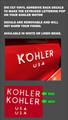 KOHLER DIE CUT VINYL LETTERS TO HI-LITE EXTRUDED LETTERS