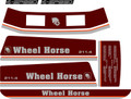 WHEEL HORSE 211-4 speed  Decal set
