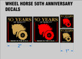 WHEEL HORSE 1996 anniversary 50 YEARS OF QUALITY DECALS