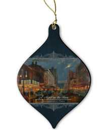 A Night on the Town Ornament